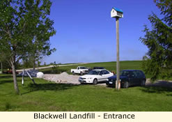 Blackwell Landfill - Entrance