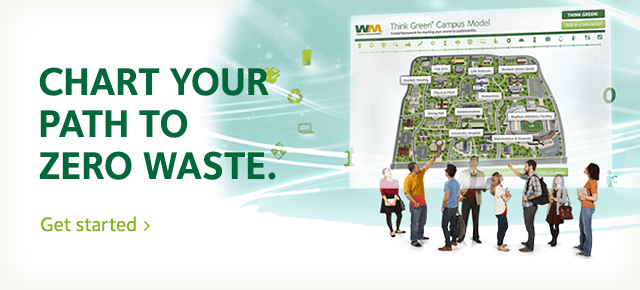 Zero Waste campus map