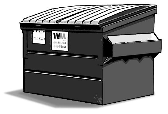 Temporary Bin Dumpster Rental Service Carlsbad Waste