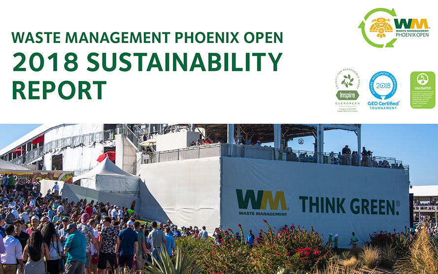 Wm Phoenix Open Thinkgreen Waste Management